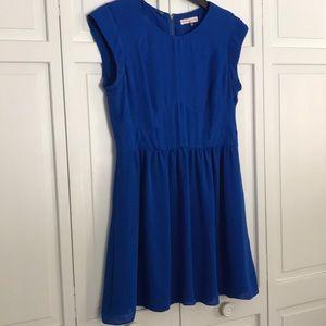 Rebecca Taylor cobalt blue dress size 10